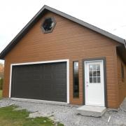 Construction d'un garage - Jeff Tech Rimouski
