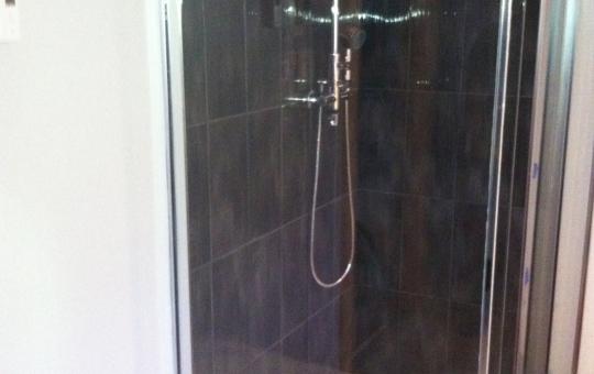 Installation d'une douche - Jeff Tech Rimouski